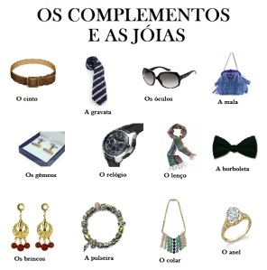 Complementos e jóias